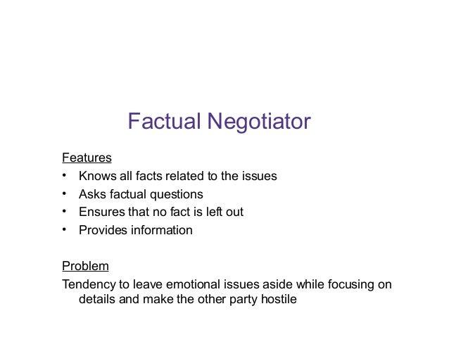 Building Negotiation Skills