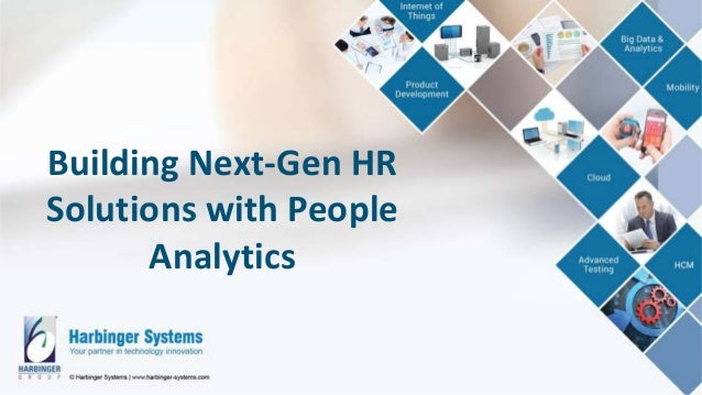 Building Next-Gen HR Solutions with People Analytics