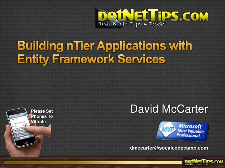 Building nTier Applications with Entity Framework Services<br />