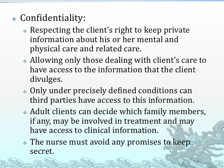 how to terminate a nurse client relationship
