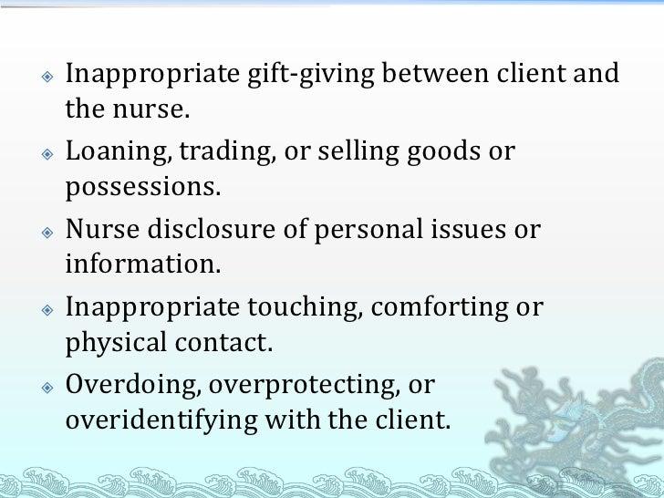 nurse client relationship essay