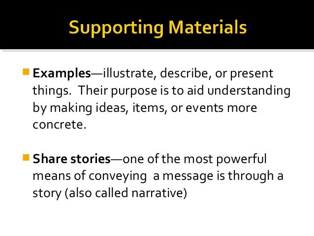Each group is required to have supporting materials that documents at least two facts and or statistics. ****They can be a...