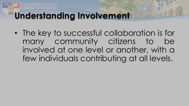 collaborative relationship in school Collaboration sounds like working with others while partnering sounds like a long -term investment in a relationship that is mutually beneficial to.