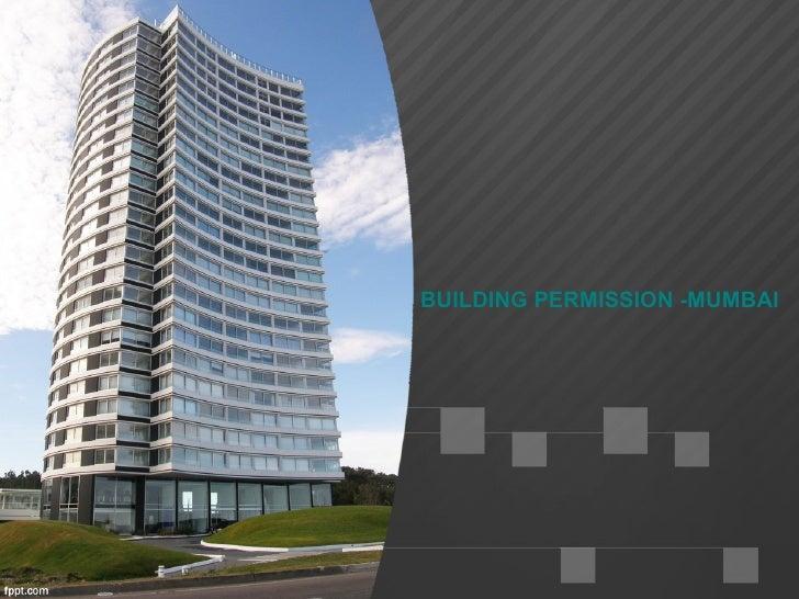 BUILDING PERMISSION -MUMBAI