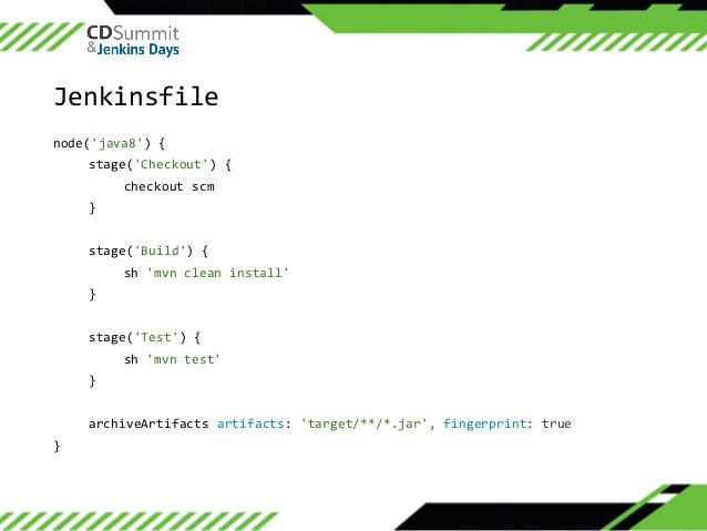 Jenkins Pipeline Checkout Scm Example