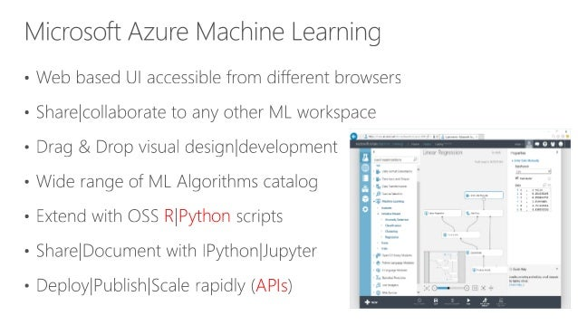 Building predictive models in Azure Machine Learning