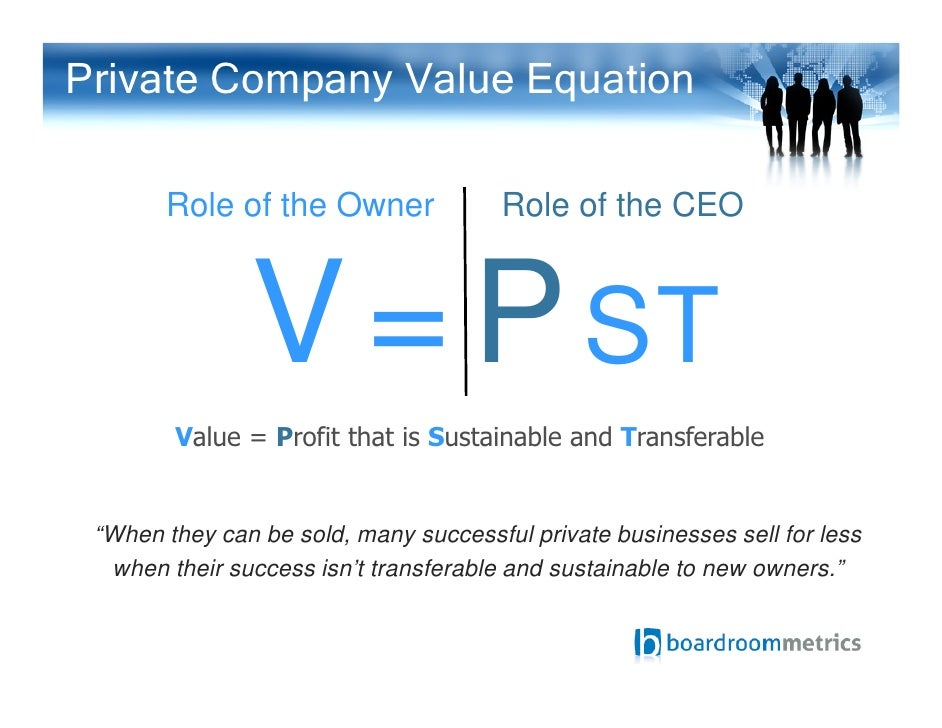 Building Private Business Value Summary