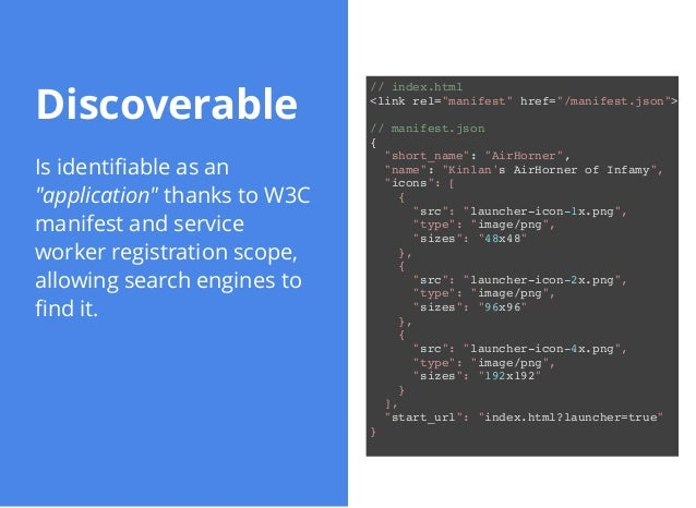 Building Progressive Web Apps for Android and iOS