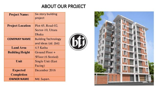 building project presentation