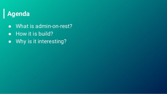 Building React CRUD app in minutes?
