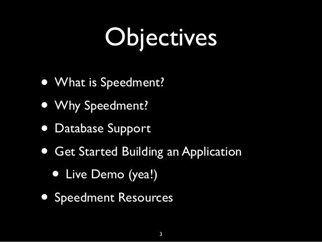 Building Realtime Access Data Apps with Speedment (TCF ITPC 2017) Slide 3