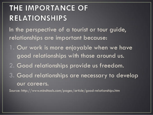 building a good relationship with your partner