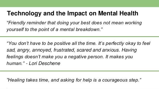 Mental Health Technology Tools Helpful Video Links: https://youtu.be/kmSinPMVU2U ~School-Link: Caring for the mental healt...