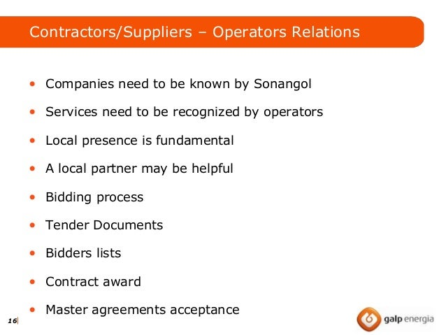 Building Relationships Within The Oil Gas Sector May 2013