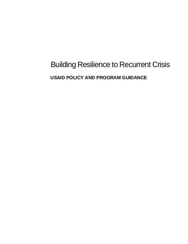 Building resilience to_recurrent_crisis___policy_and_program_guidance Slide 3