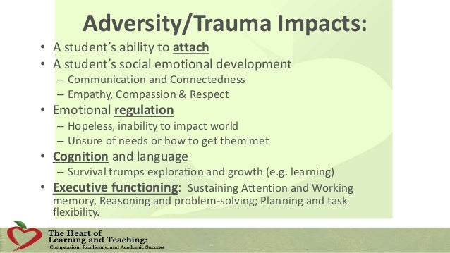 Why use the PBIS Triangle for Traumatized Students?