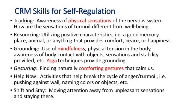 Next steps: • Build knowledge of brain research on trauma and learning • Examine practices that teach self regulation • Cr...