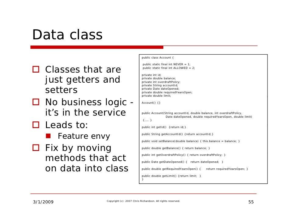 Building Rich Domain Models Slide 55
