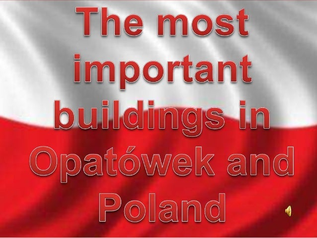 In Poland you can see a lot of interesting and valuable buildings. Some deserve our attention because of history,art or ar...
