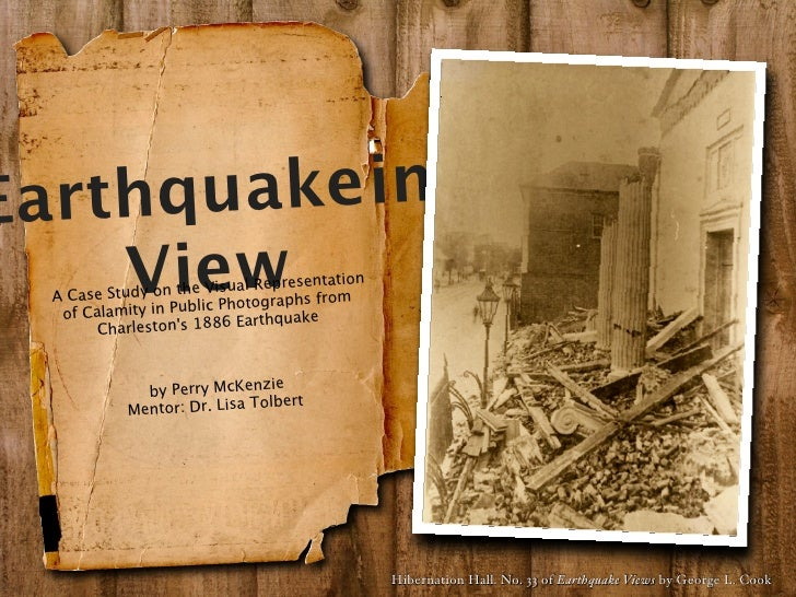 Earthq uake in     View   A Case Study on    of Calamity in                    the Visual Repres                   Public ...