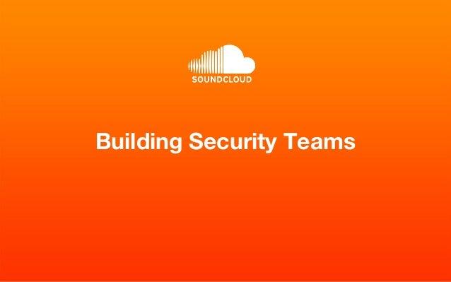 Building Security Teams