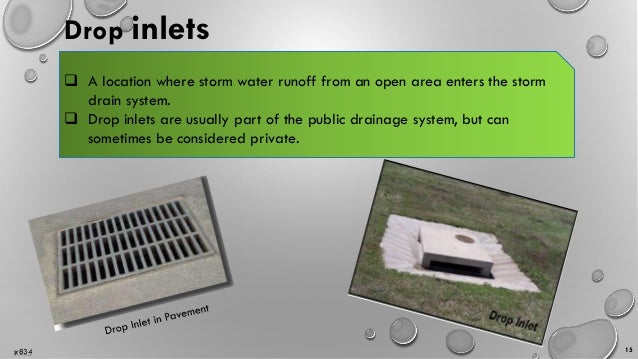 Building Services Drainage Rain Water Disposal And