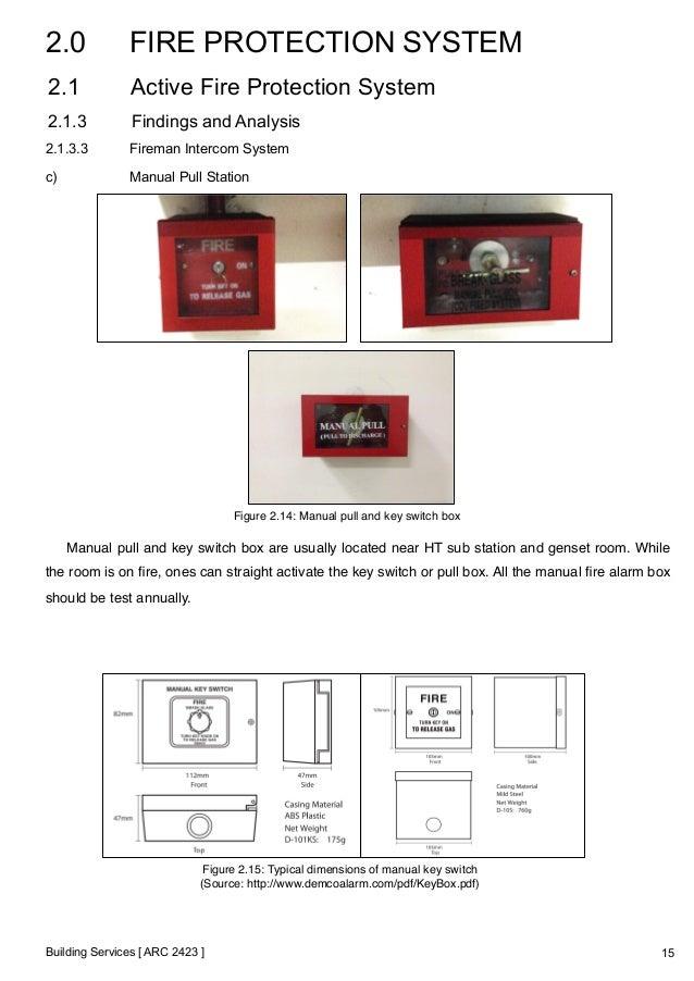 building services report final rh slideshare net Power Window Switch Wiring A Light Switch Wiring