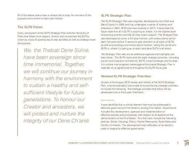 Building SLFN Final Report 2016