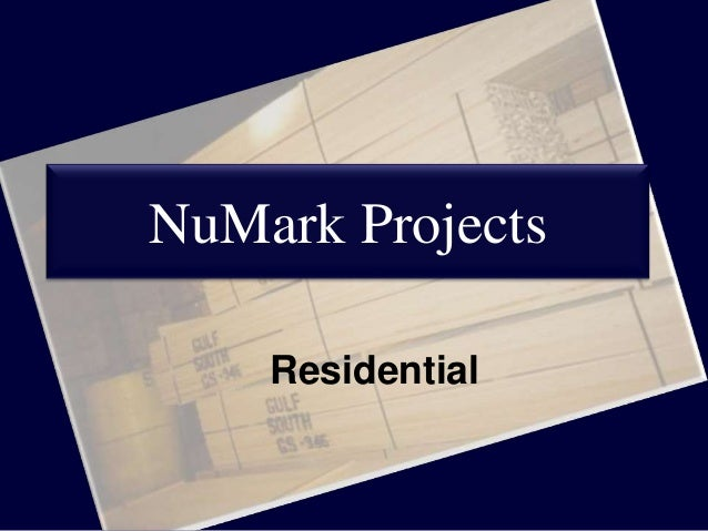 NuMark Projects Residential