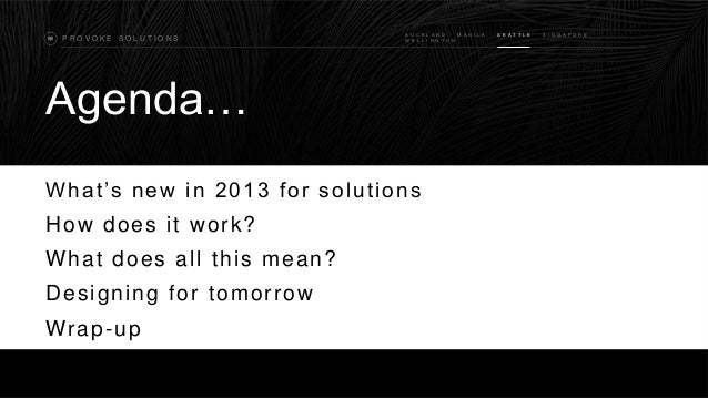 SharePoint Saturday Redmond - Building solutions with the future in mind Slide 3