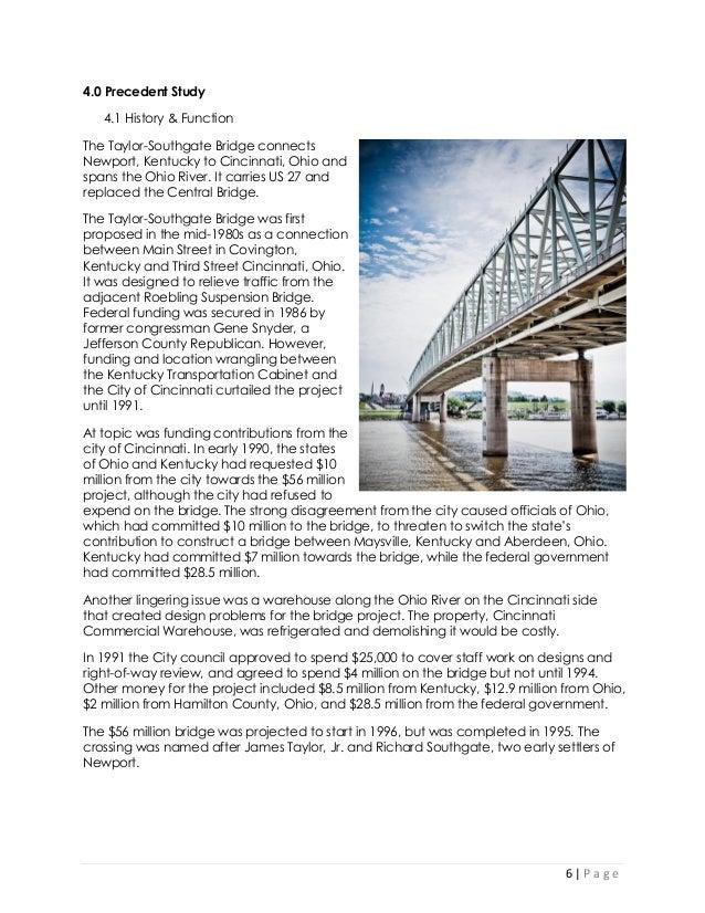 how to write a bridge report michigan