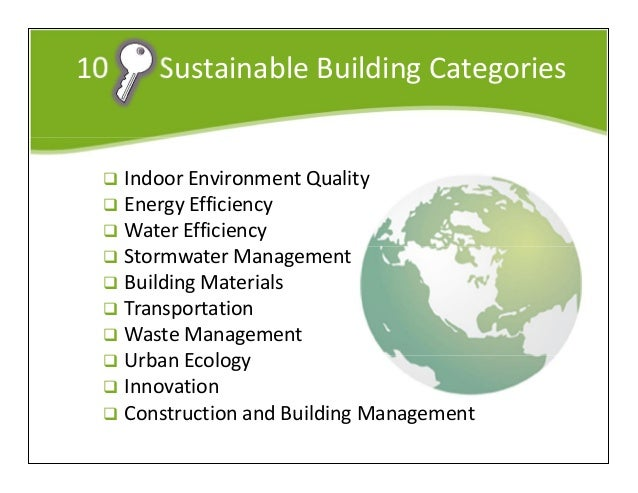 Building Sustainability Green Building