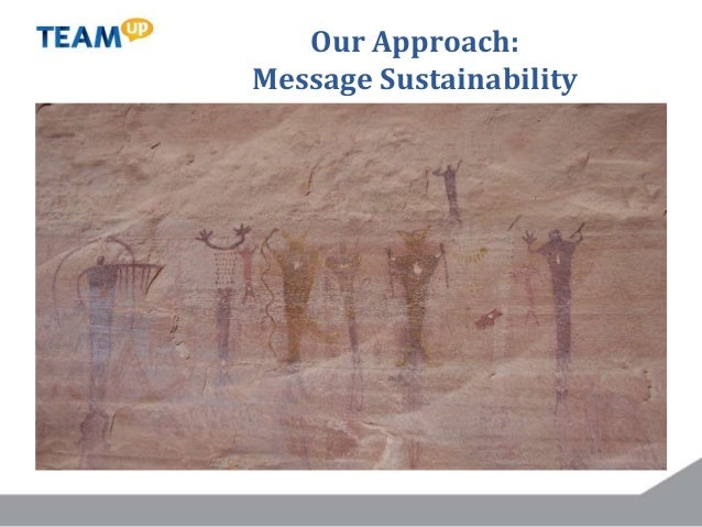 Our Approach: Message Sustainability