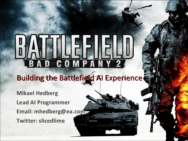 Building the Battlefield AI Experience