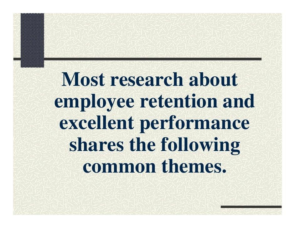 strong work ethic staff retention pdf