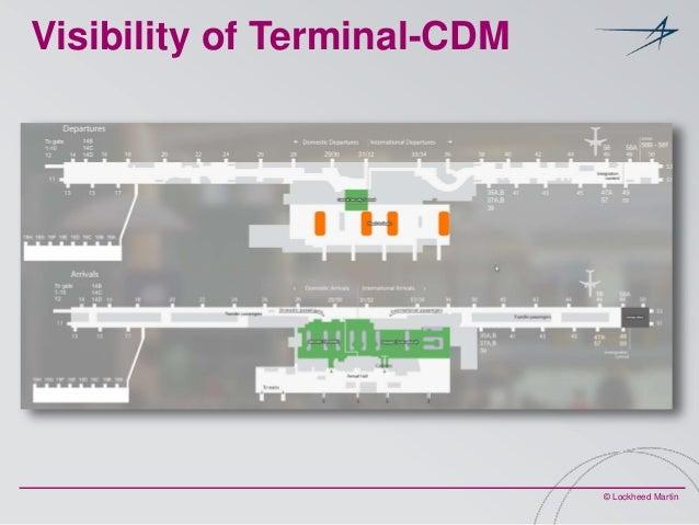 Visibility of Terminal-CDM  © Lockheed Martin