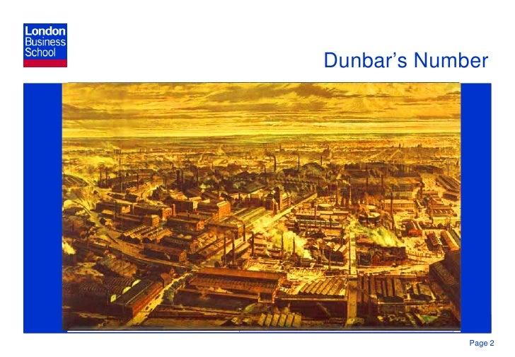 Human Nature Dunbar S Number