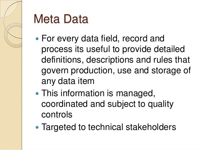 using data wrangling and gemms for metadata management And provided particularly detailed information to china in line with an agreement that envisages a mutual exchange of data about  of management and.