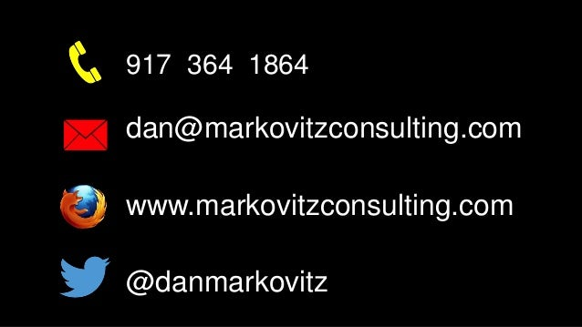 Building the Fit Organization (with guest presenter Dan Markovitz)