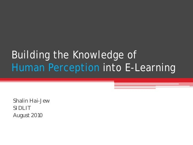 the knowledge of human existence perception Helmholtz, human perception is but indirectly related to objects, being inferred from fragmentary and often hardly relevant data signalled by the eyes, so requiring inferences from knowledge of.