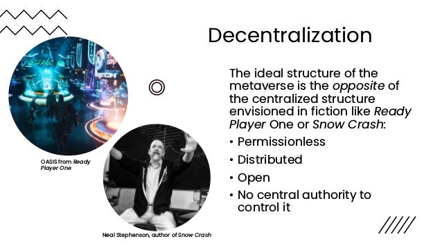 Internalized vs. Externalized Network Effects Metaverse experiences will be highly differentiated. They benefit from netwo...