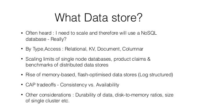Building tiered data stores using aesop to bridge sql and no sql systems Slide 2