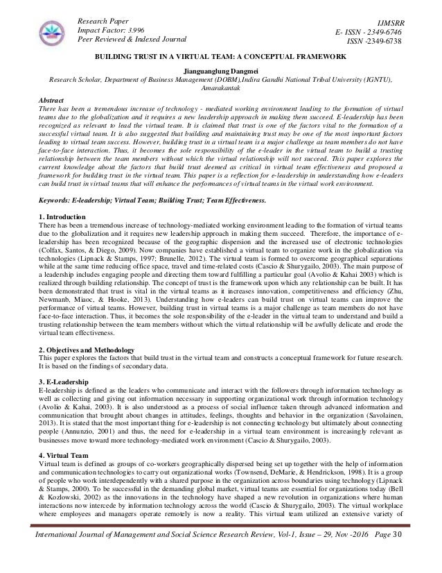 Others Term Paper On Team Building up-to-date comparisons