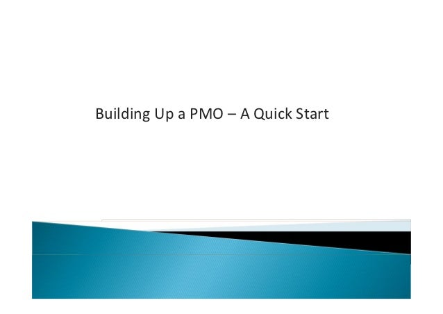 Building Up a PMO – A Quick Start
