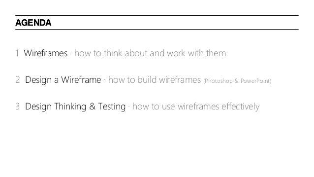 Intro to Wireframing, HCD & Design Thinking Slide 3