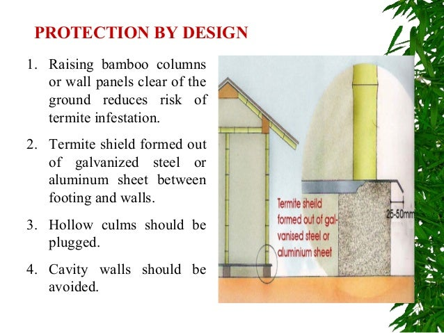 9. PROTECTION BY DESIGN 1. Raising Bamboo Columns Or Wall Panels ...