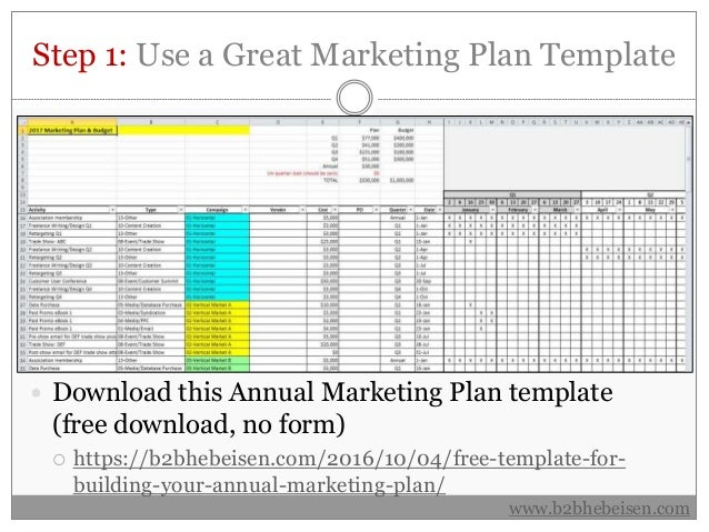 seven step e marketing plan Your 7 sentence marketing plan presented by the steady sales group  all steps to follow will be based on the clarity of your initial goals and purpose remember.