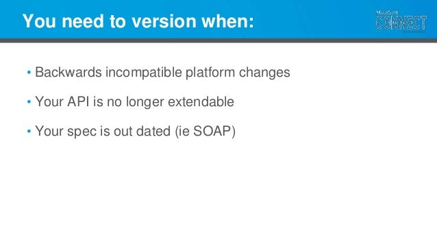 Building a rest api for longevity versioning does not excuse poor design malvernweather Images