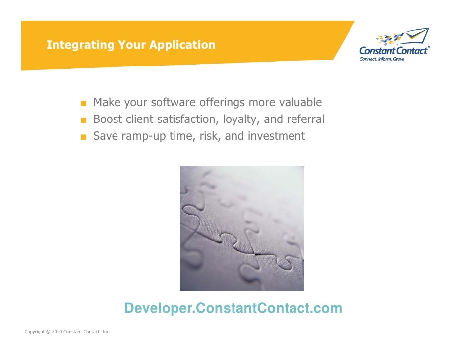 Integrating Your Application                             ■ Make your software offerings more valuable                     ...