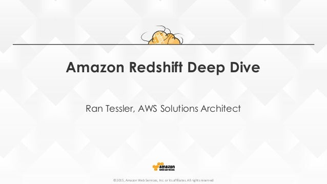Building your data warehouse with Redshift